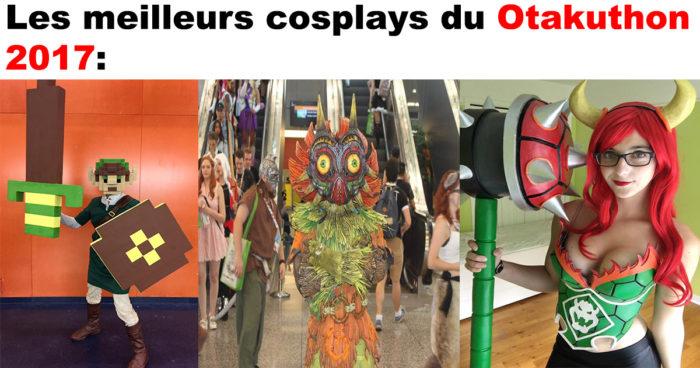 53 cosplays du Otakuthon 2017