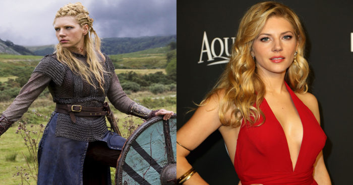 Vikings: Les acteurs avec et sans leur costume!