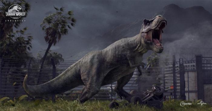 Un premier trailer pour le jeu Jurassic World Evolution!