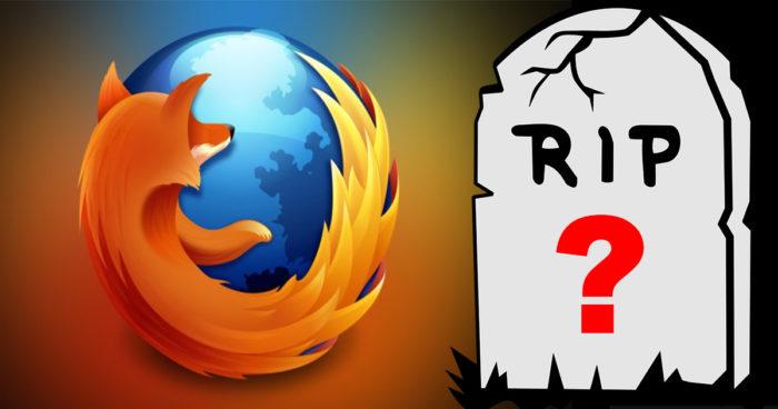 Firefox: La mort du navigateur en approche?