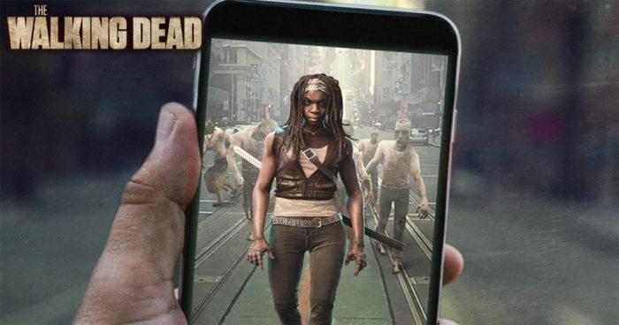 The Walking Dead a annoncé un jeu en réalité augmentée comme Pokémon Go!