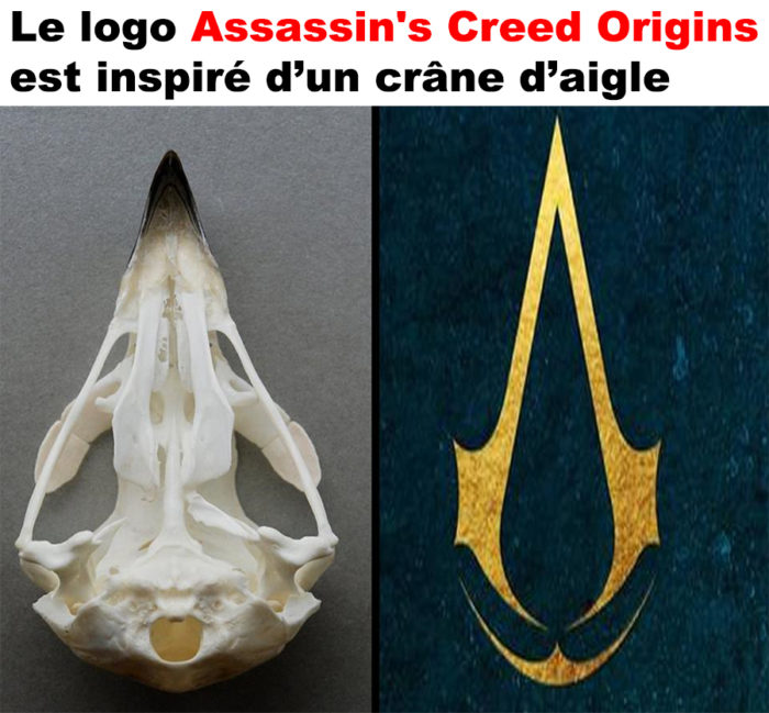 Le logo Assassin's Creed Origins