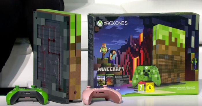 Une Xbox One S aux couleurs de Minecraft vient d'être annoncé!