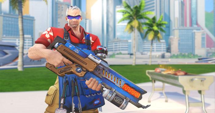 Overwatch: Les skins et les jeux d'été sont arrivés!