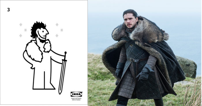 Game of Thrones: Ikea nous montre comment faire une cape avec un tapis