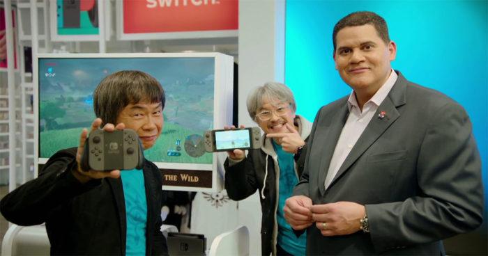Reggie Fils-Aimé nous explique pourquoi la Nintendo Switch se vend aussi bien!