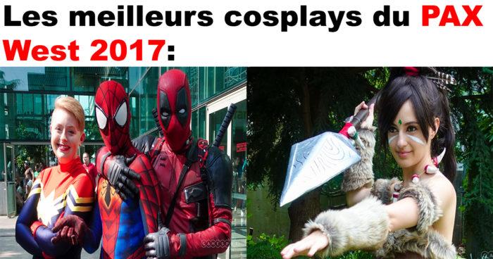 80 cosplays du PAX West 2017