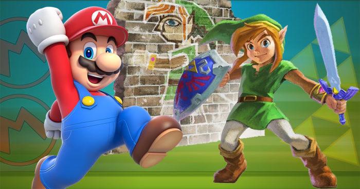 Nintendo Switch: De nouvelles manettes aux couleurs de Mario et Zelda!