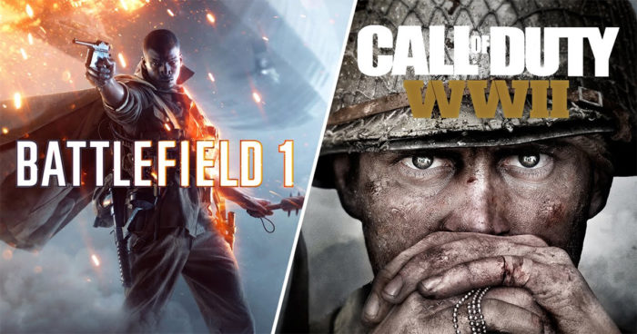 Call of Duty WWII VS Battlefield 1: Qui a les plus beaux graphismes?