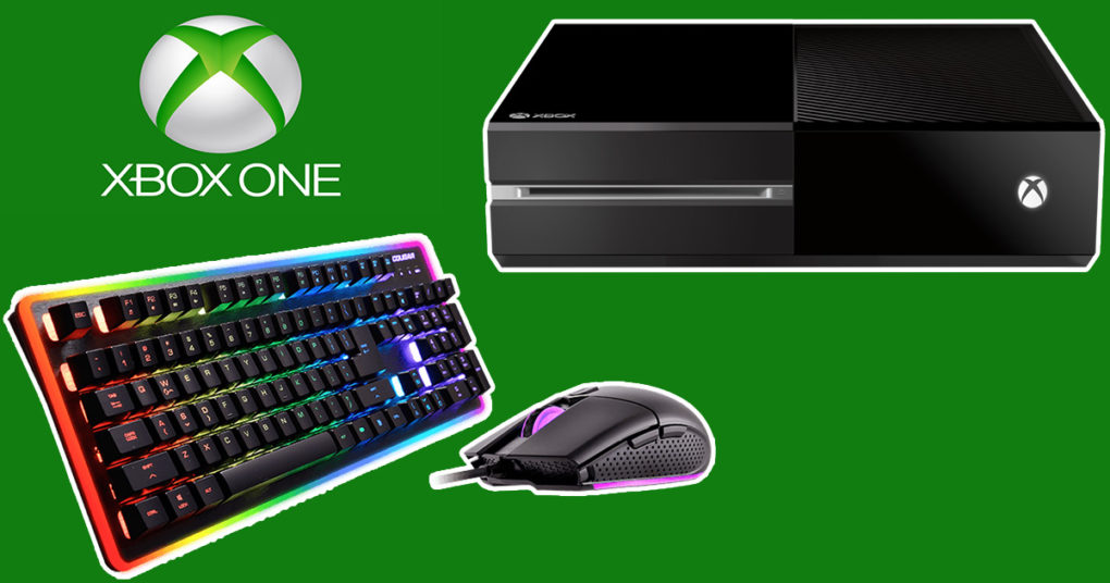 xbox one la compatibilit clavier souris arrivera tr s. Black Bedroom Furniture Sets. Home Design Ideas