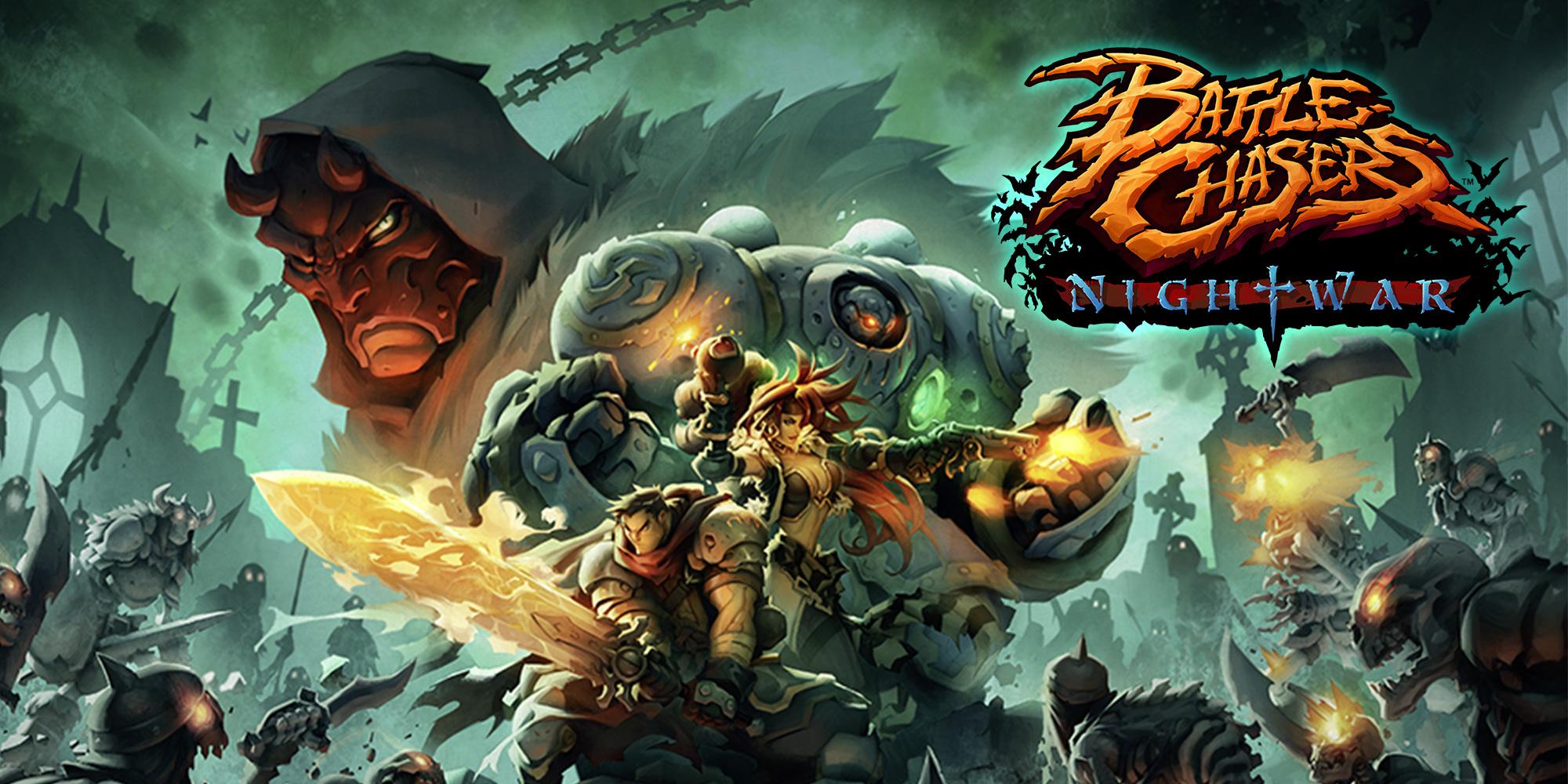 لعبة القتال battle chasers nightwar