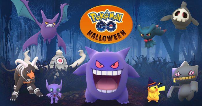 Pokémon Go: L'événement Halloween et les Pokémons de la 3ème génération sont arrivés!