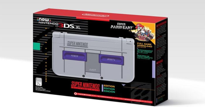 Nintendo a annoncé une 3DS XL spéciale SNES!