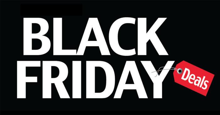 Black Friday 2017: 12 offres à ne pas manquer!