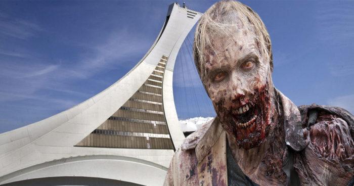 Un jeu de zombies VR qui se déroule dans la ville de Montréal