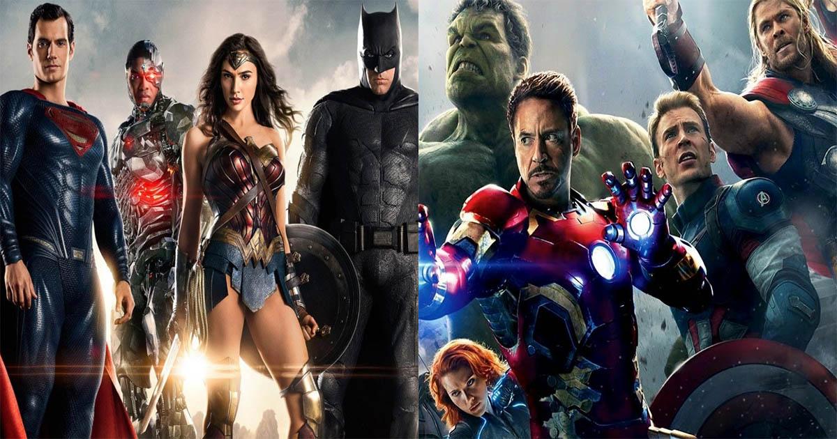 un crossover justice league et avengers  les acteurs de dc r u00e9pondent