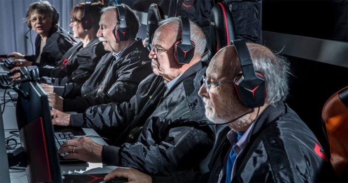 Silver Snipers: Une équipe eSports composée uniquement de personnes âgées
