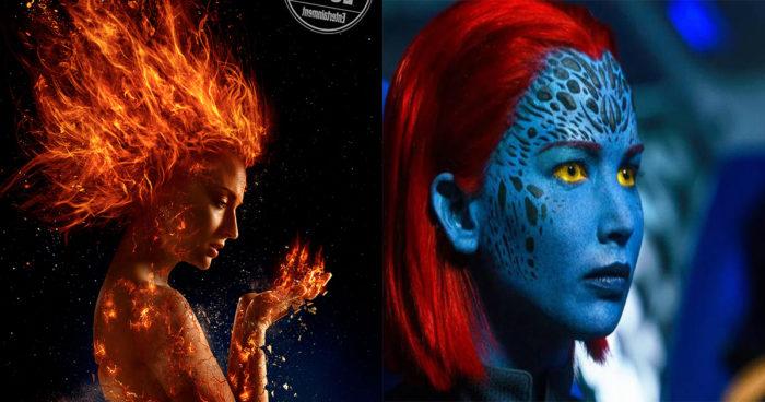 De premières images pour le film X-Men: Dark Phoenix