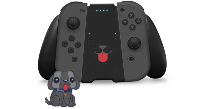Nintendo Switch: Cet grip transforme votre manette en chien