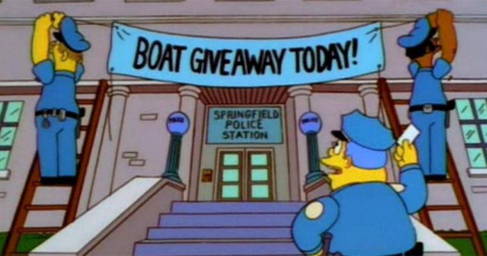 La police britannique a utilisé une technique des Simpsons pour piéger 21 délinquants