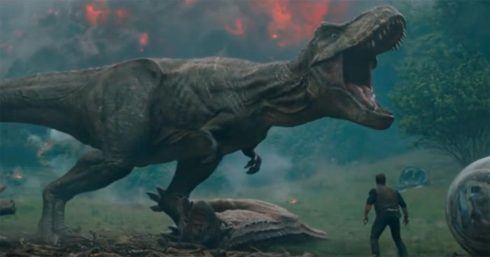 Jurassic World Fallen Kingdom: La première bande-annonce est arrivée et elle arrache tout!