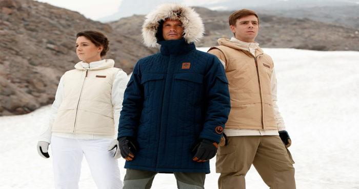 Columbia lance une collection de manteaux inspirés de Star Wars