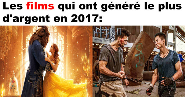Les 10 plus gros succès du box-office mondial en 2017