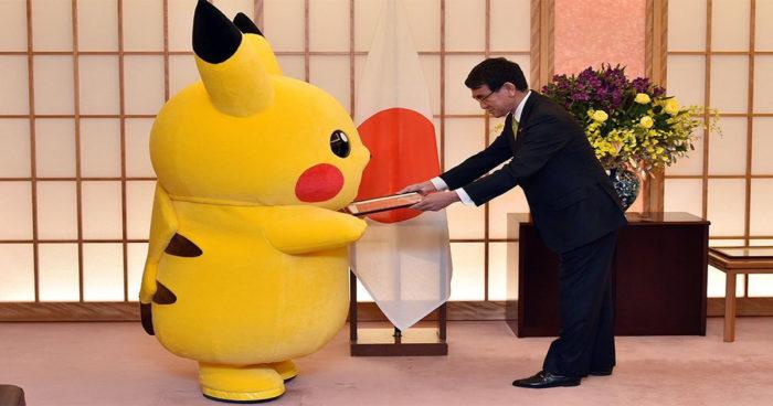 Pikachu vient d'être nommé ambassadeur d'une ville au Japon!