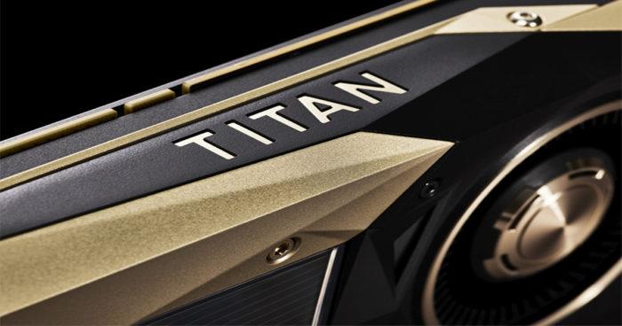 Nvidia Titan V: La nouvelle carte graphique la plus puissante sur le marché, mais également très chère