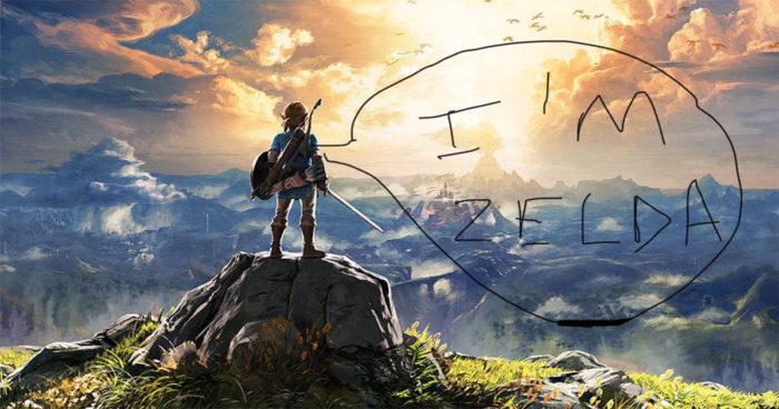 Nous sommes heureux de vous informer que Zelda est en fait un garçon