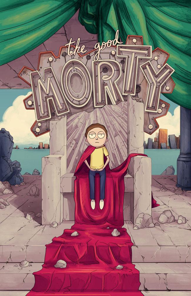 Des fonds d'écrans Rick and Morty pour vos PC et téléphone - GeekQc.ca