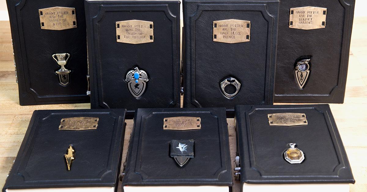 Ces Livres Harry Potter Avec Horcruxes Sont Tout Simplement
