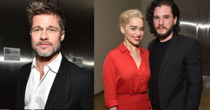Game of Thrones: Brad Pitt était prêt à payer 120 000$ pour voir un épisode avec Emilia Clarke