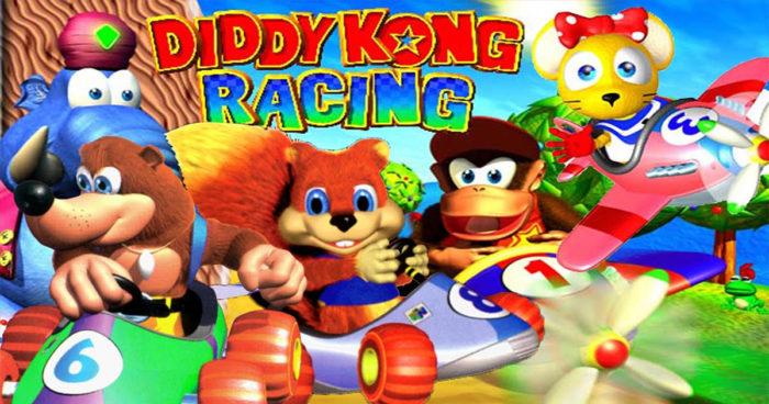 Diddy Kong Racing recréé en HD par un fan!