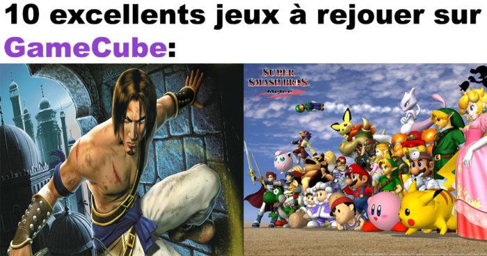 10 jeux auxquels rejouer sur GameCube