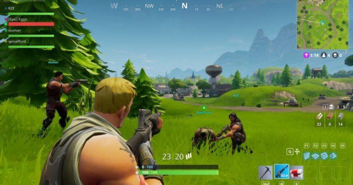 Fortnite: Le tir allié a été désactivé suite aux plaintes des joueurs