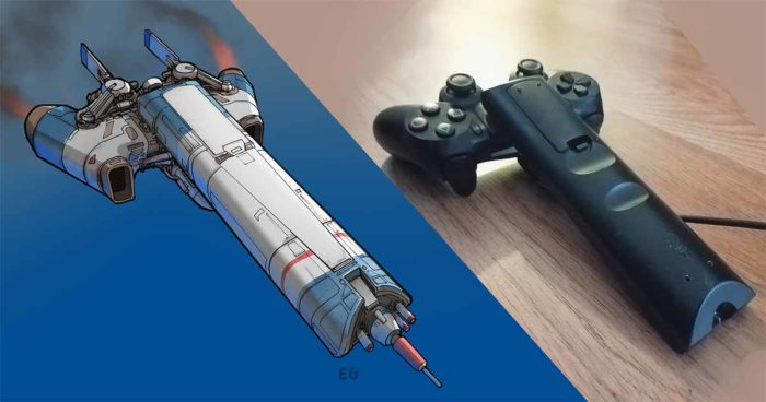 Cet artiste transforme des objets ménagers en vaisseaux spatiaux vraiment cool