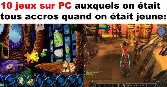 Ces jeux sur PC auxquels on était tous accros quand on était jeune