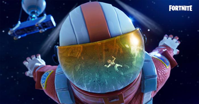 Fortnite: Un nouveau skin d'astronaute dès le level 1