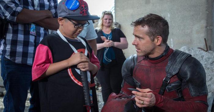 Deadpool 2: Ryan Reynolds a réalisé le rêve de plusieurs enfants malades [IMAGES]