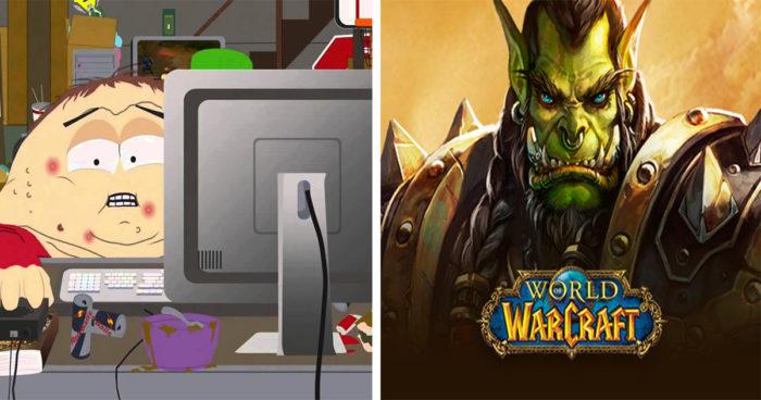 World of Warcraft: En référence à South Park, il monte lvl 60 d'une manière très spéciale