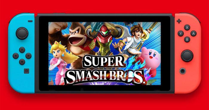Bientôt un nouveau jeu Super Smash Bros sur Switch?