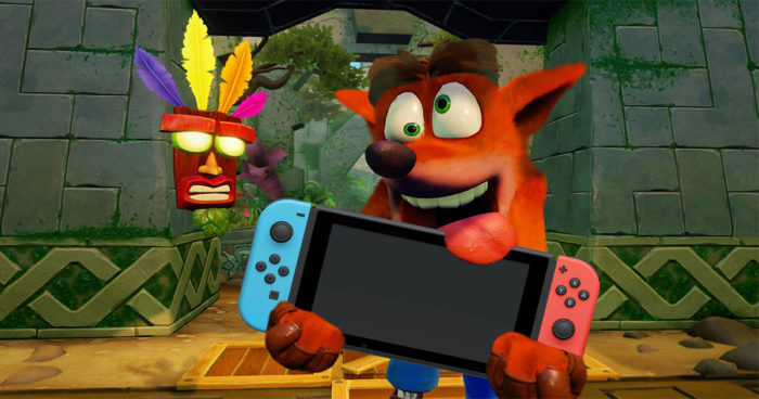 Crash Bandicoot N. Sane Trilogy bientôt sur Xbox One et Nintendo Switch?