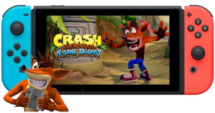 Crash Bandicoot N.Sane Trilogy sera bientôt disponible sur Switch