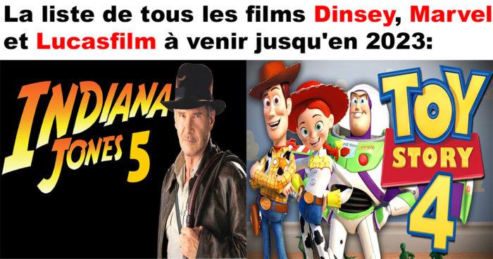 Disney dévoile les dates de sortie de tous ses films jusqu'en 2023!