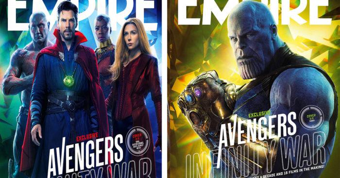 Marvel nous présente 6 nouvelles affiches pour Avengers: Infinity War