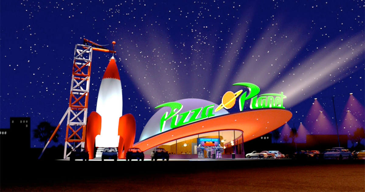 Toy Story: ¡Un verdadero Pizza Planet abrirá en Disneyland!  - GeekQc.ca