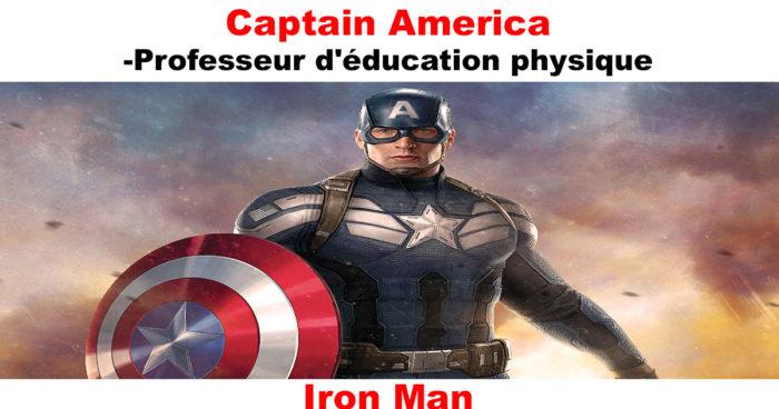 Si les super-héros de Marvel étaient professeurs, quelle matière ils enseigneraient?
