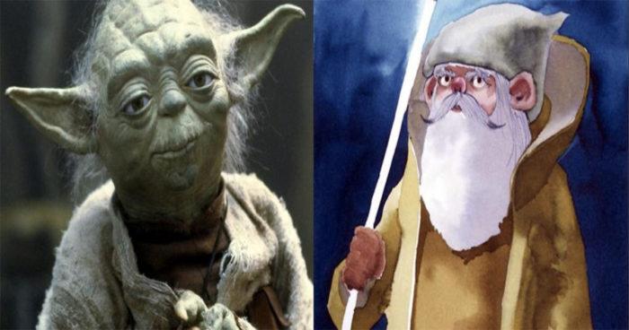 Voici à quoi devaient ressembler les personnages de Star Wars au départ