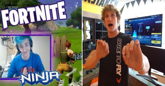 Fortnite: Logan Paul, le nouveau concurrent de Ninja sur Twitch?